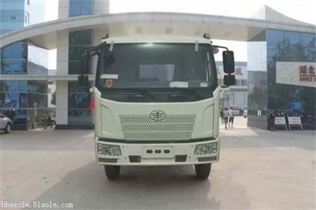 解放J6型12方压缩式垃圾车厂家直销