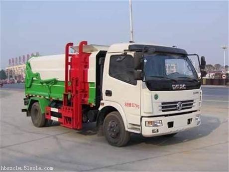 东风多利卡8方侧装压缩式垃圾车