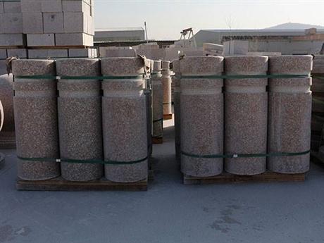 天然花岗岩五莲红石材 客户满意石材的质量