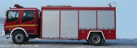 东风6吨水罐消防车价格