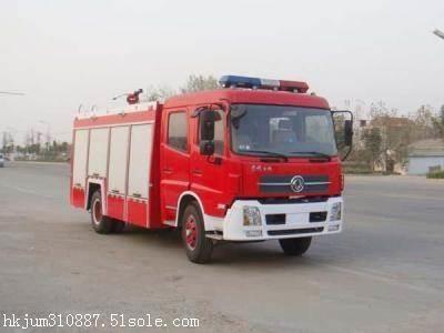 庆铃5吨水罐消防车价格