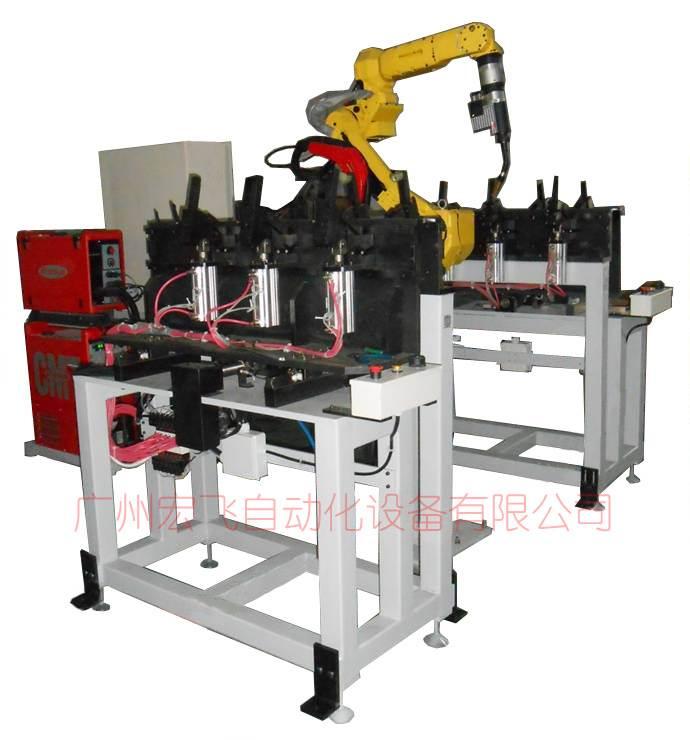 供应铝水箱机械手焊接工作站