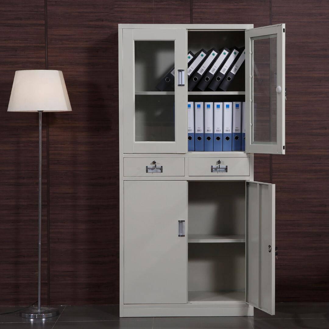文件柜铁皮柜办公柜档案柜凭证柜资料柜带锁