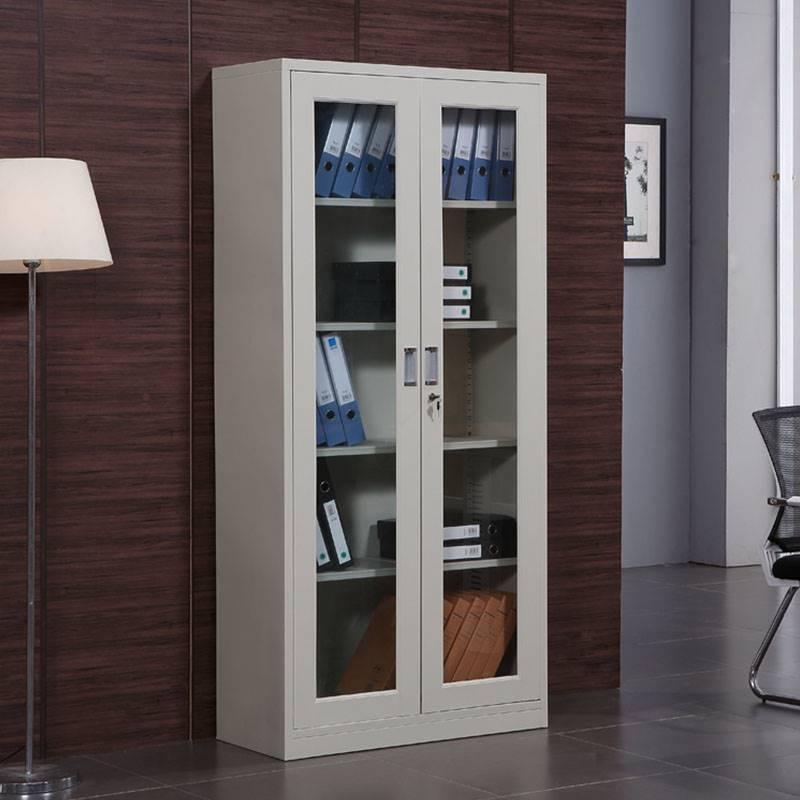重庆办公室A4钢制文件柜铁皮带锁资料柜档案柜凭证矮柜储物柜子