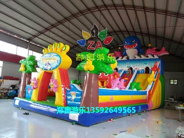 儿童充气玩具、水上滑梯,大型水上游乐设施,儿童玩具