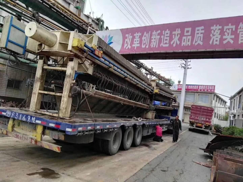辽宁化工厂低价转让二手压滤机二手板框压滤机