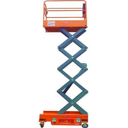 3米移动剪叉高空作业平台铝合金升降平台