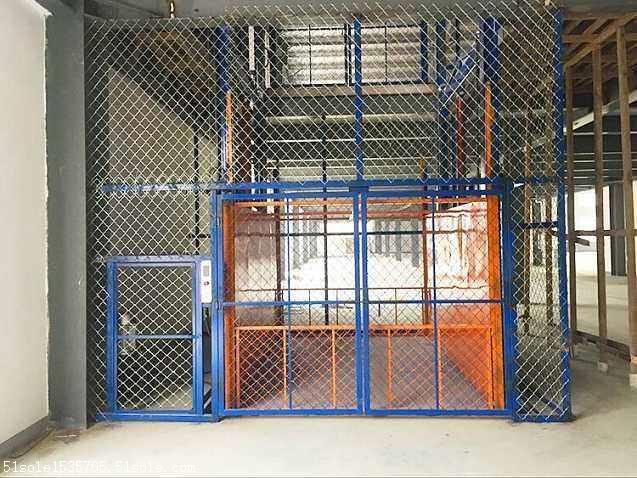 湖北襄樊固定导轨电动液压升降机升降货梯厂家销售