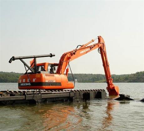 水路挖掘机出租公司,水陆两用挖掘机租赁,挖掘机的未来