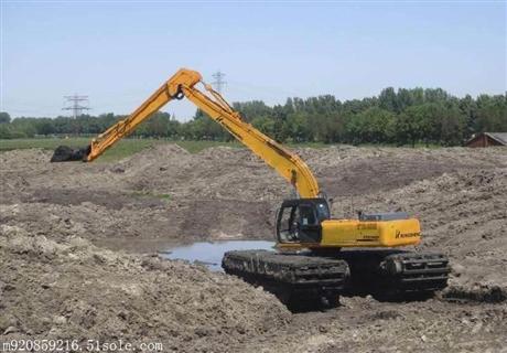 湖北鄂州水栖两用挖机出租