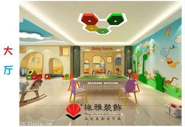 合肥幼儿园怎么装修 个性化幼儿园设计 幼儿园装修案例