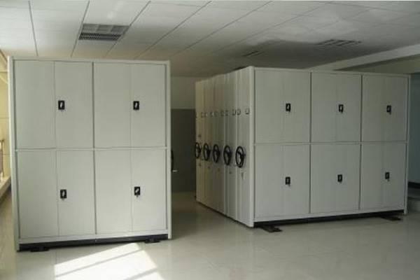 东瑞金属密集架手摇式轨道钢制密集柜文件柜可定制移动钛合金档案