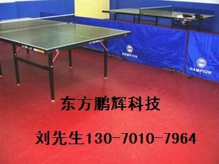 乒乓球塑胶地板 乒乓球运动地板