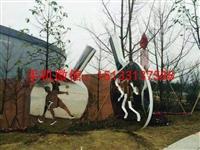 乒乓球拍不锈钢雕塑 景观不锈钢雕塑 漳州不锈钢雕塑厂家
