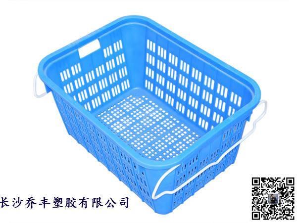 长沙塑料周转箩,塑料筐,蔬菜水果箩筐,食品箩筐,塑胶筐