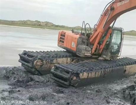 襄阳水陆两用挖掘机租赁