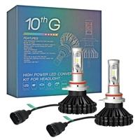 拓远光电 汽车LED大灯超亮强光前大灯远光改装炫酷颜色