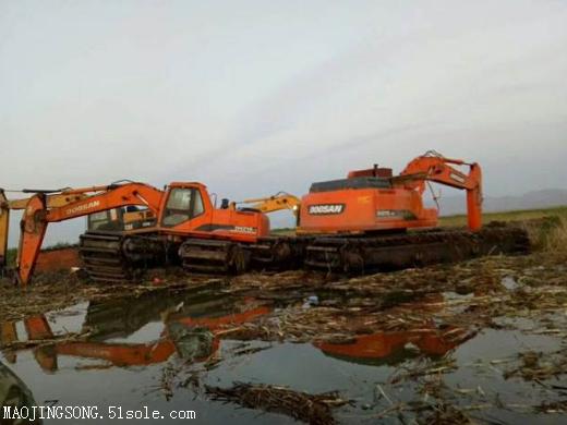水陆两用挖掘机租赁价格