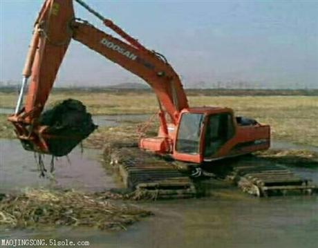 仙桃水陆两用挖掘机租赁