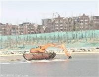 天门水陆两用挖掘机租赁