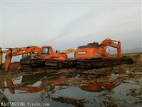 洪湖水陆两用挖掘机租赁