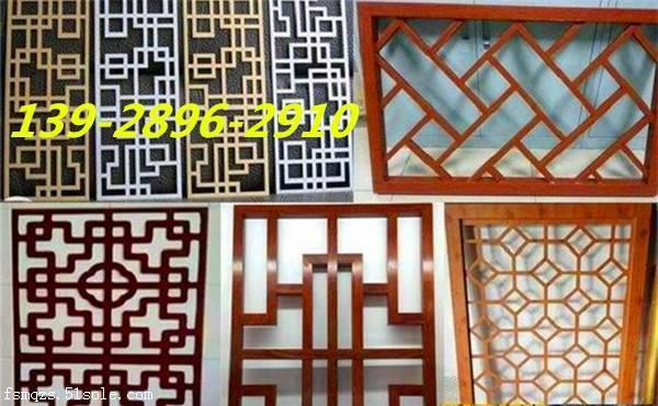 仿古门窗铝花格窗-仿古铝花格厂家材料定制