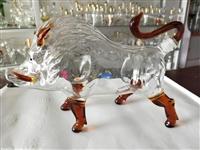河北生肖猪厂家生产高硼硅玻璃12生肖支持定制