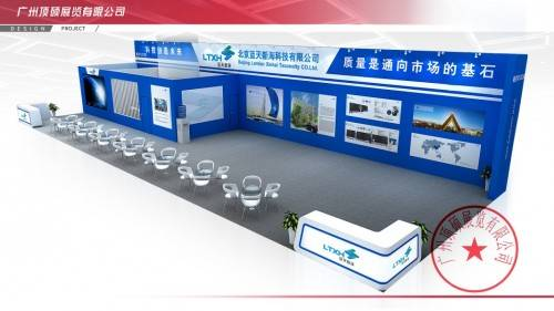广州展台设计公司自配展台搭建制作工厂