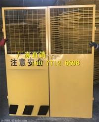 广西施工电梯门多少钱丨南宁电梯井口安全门价格丨楼层承防护门厂