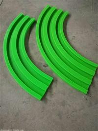 输送机绿色聚乙烯链条导轨 尼龙导轨 烁兴橡塑加工