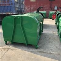 定制户外三立方钩臂式垃圾箱  厂家直销  垃圾转运箱 美化环境