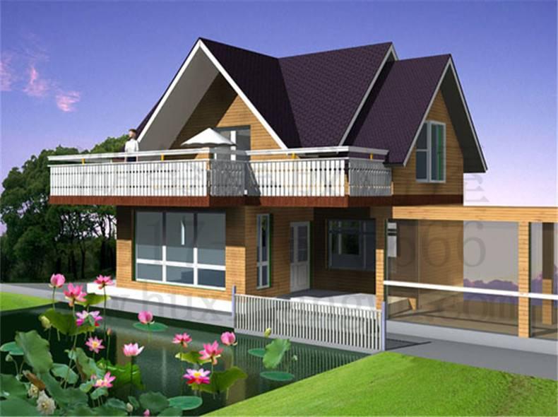 自建別墅價格 裝配式建筑 30萬輕鋼別墅
