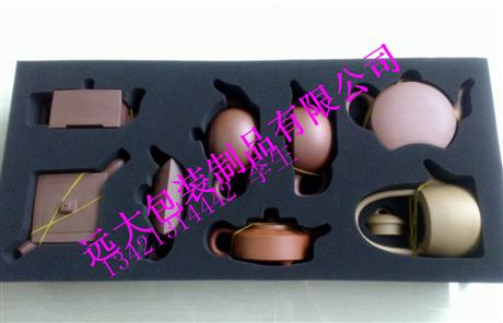 紫砂壶包装内托VA 高档盒防震内衬