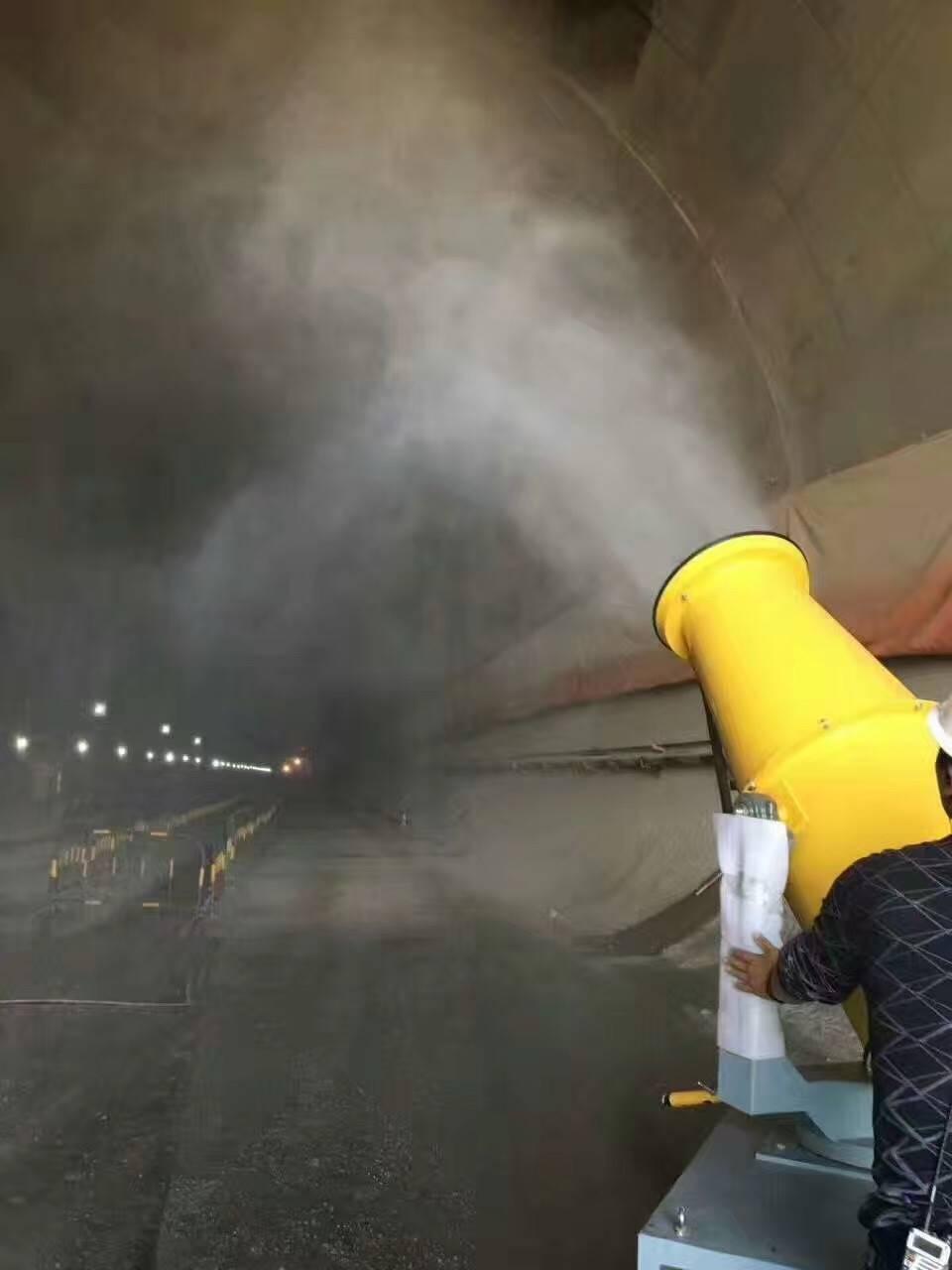 厂家直销天津拆迁工地降尘设备 友洁风送式喷雾机