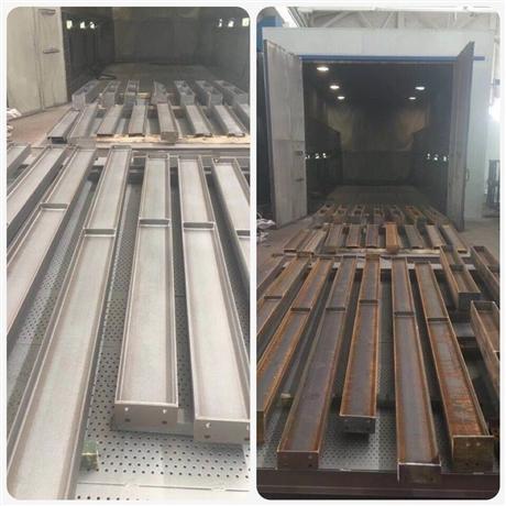 湖北防腐除锈工程服务公司 武汉钢材除锈喷砂加工厂