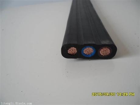 YFFB行车扁电缆 高速移动行车扁电缆 行车扁电缆厂家 栗腾生产