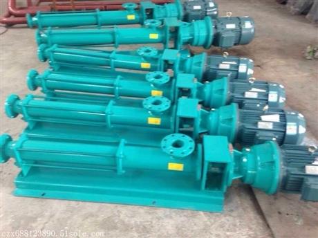 公司销售污泥螺杆泵