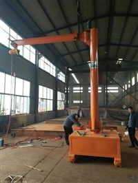 转让3吨行车吊车遥控旋悬臂吊臂长9米起吊高速8.5米