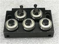 拉丝机、水箱拉丝校直器上的校直轮材质是硬质合金滚