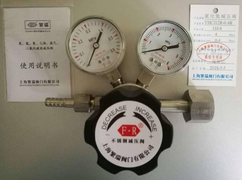 不锈钢氯化氢减压阀YHCI12R-0.4R