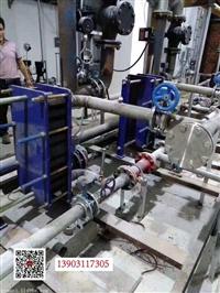 河北恩曼设备安装废水排放管道的除垢实验