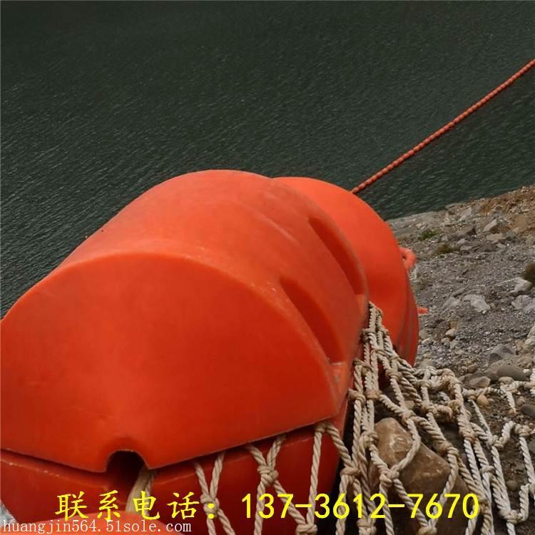 河道拦渣浮体塑料拦污排设施