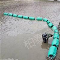 600*1000mm海上警示拦污浮筒 填充发泡聚氨酯pe浮筒 拦垃圾浮桶