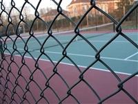 内蒙古包头体育场篮球场围栏勾花网包塑加工定做