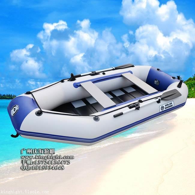 4人拉丝底橡皮艇/四人钓鱼船,出口橡皮船,加厚充气艇
