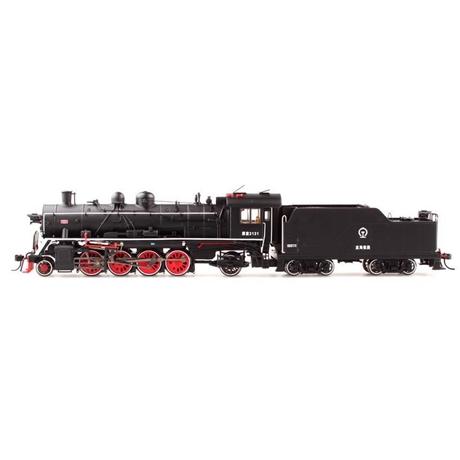 火车机车百万城模型蒸汽v火车型机车图纸212接驳蒸汽台图片