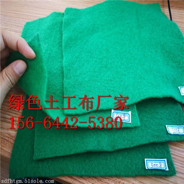 保湿反滤200克绿色土工布厂家