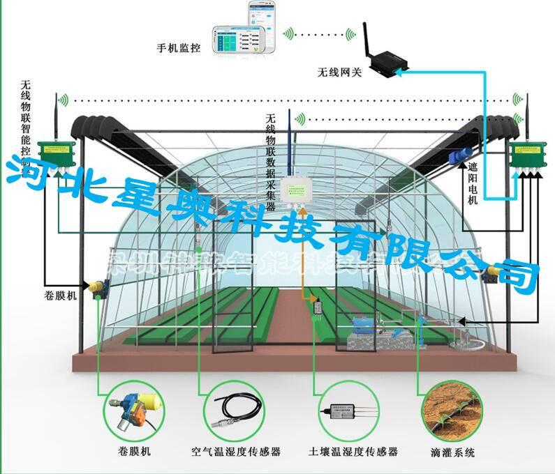 智慧农业物联网系统  温室大棚远程自动化监测  星奥科技