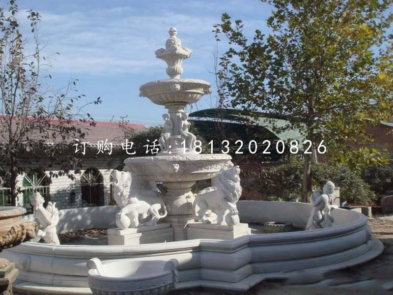 大型石喷泉,欧式喷泉雕塑