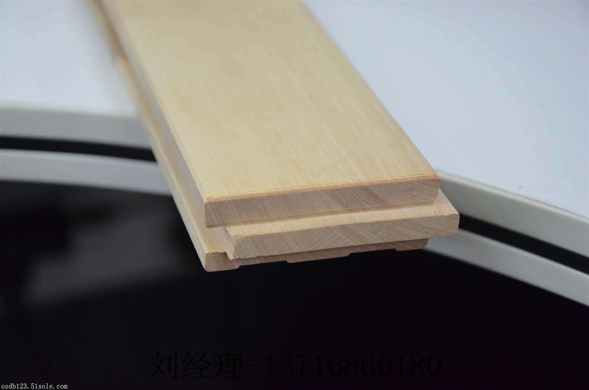 运动木地板实力生产厂家 欧氏地板 主要生产篮球馆木地板